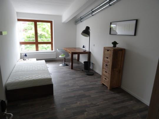 Das Zimmer Hoheluft-West in unserem Home'n Hostel Elmshorn