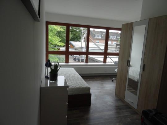 Das Zimmer in unserem Home'n Hostel Elmshorn