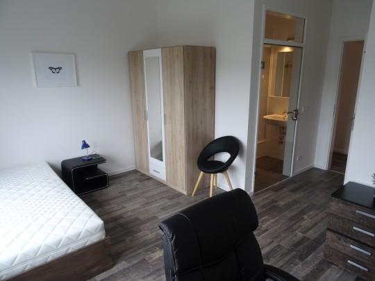 Das Zimmer Sülldorf in unserem Home'n Hostel Elmshorn