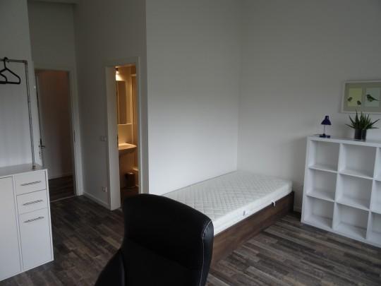Das Zimmer Wandsbek in unserem Home'n Hostel Elmshorn