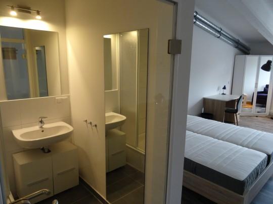 Das Zimmer Duvenstedt in unserem Home'n Hostel Elmshorn