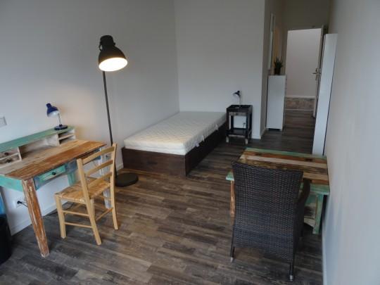 Das Zimmer Wilhelmsburg in unserem Home'n Hostel Elmshorn