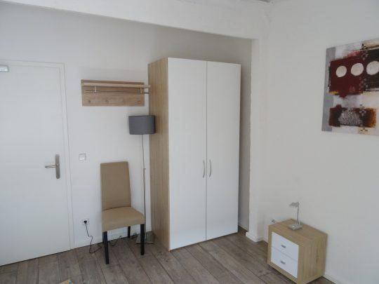 Das Zimmer Hummelsbüttel in unserem Home'n Hostel Elmshorn