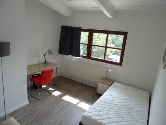 Das Zimmer Harburg in unserem Home'n Hostel Elmshorn