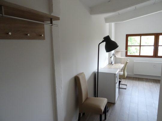 Das Zimmer Heimfeld in unserem Home'n Hostel Elmshorn