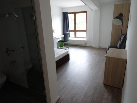 Das Zimmer Jenfeld in unserem Home'n Hostel Elmshorn